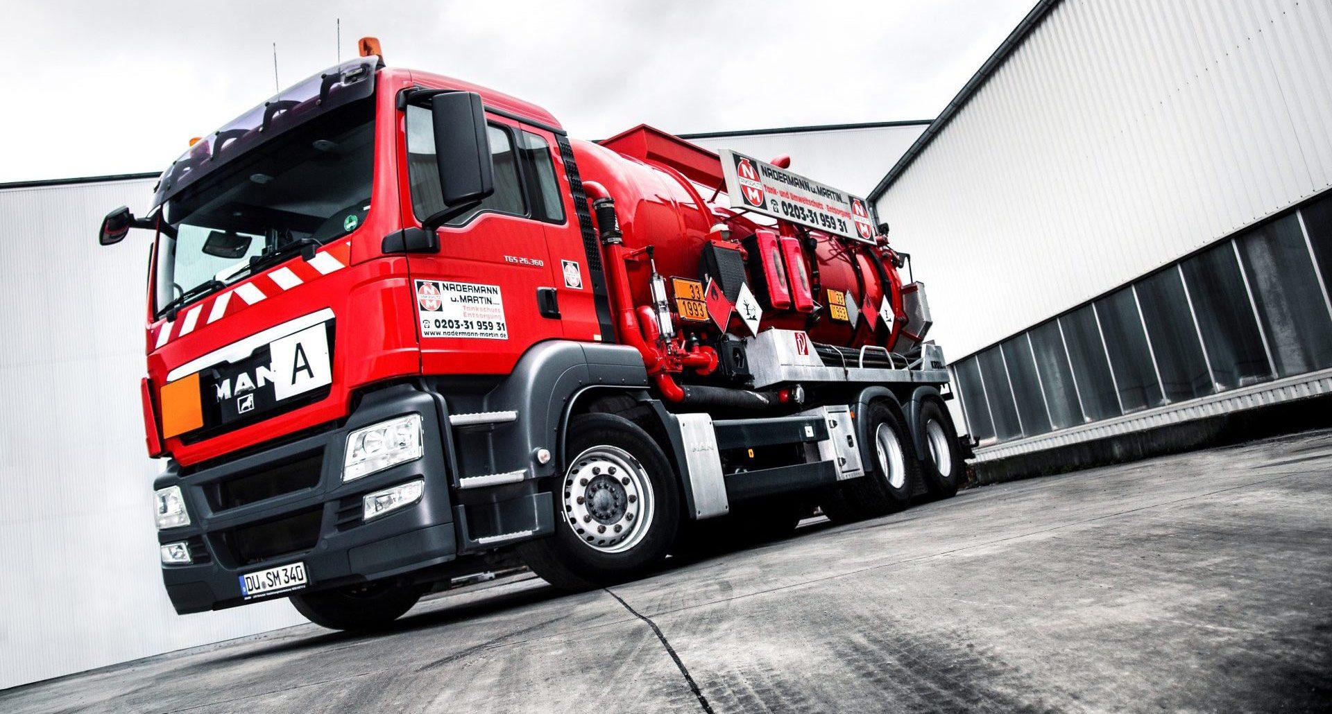 Nadermann und Martin GmbH - Saug-Druckfahrzeug